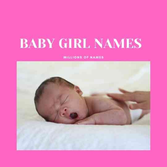 BABY NAMES FOR GIRLS STARTING WITH S