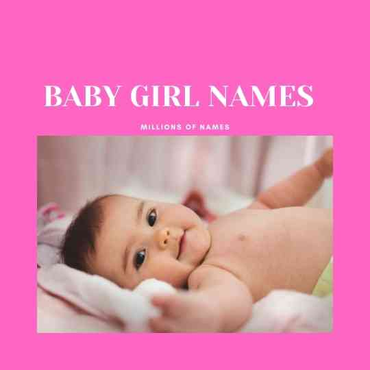 BABY GIRL NAMES STARTING WITH S