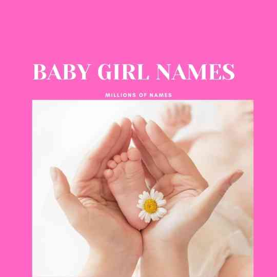 BABY GIRL NAMES THAT START WITH S