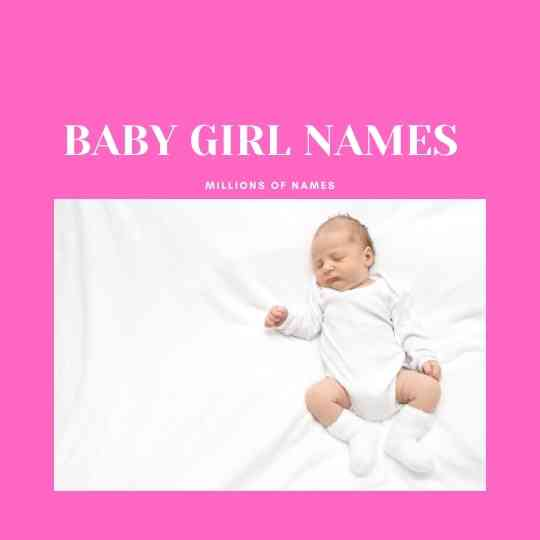 GIRL NAMES WITH S
